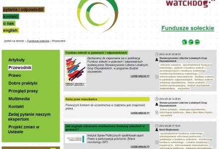 Funduszesoleckie.pl – polecamy stronę dla wszystkich, którzy chcą więcej wiedzieć o Funduszu Sołeckim.