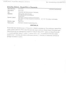 wyrok WSA-Szkoła Skrzeszewy 001