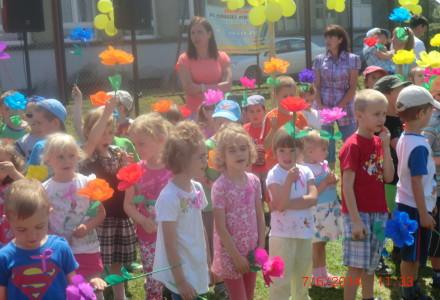 Piknik rodzinny w przedszkolu w Skrzeszewach