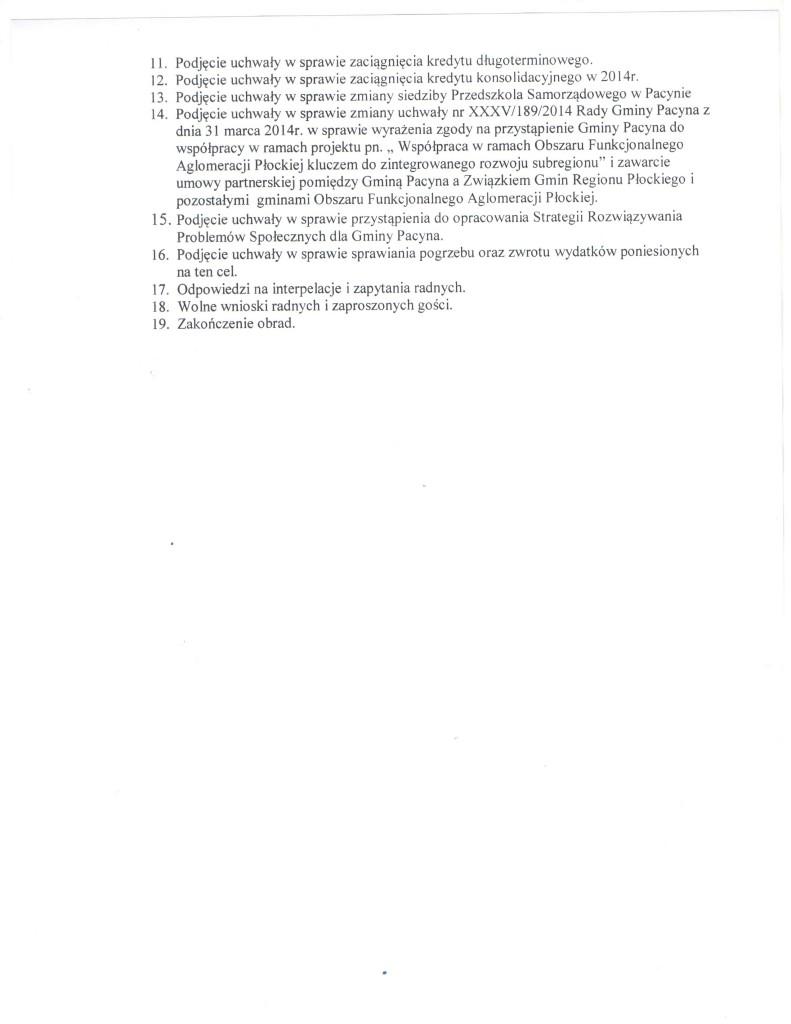 ogłoszenie o sesji 2 002