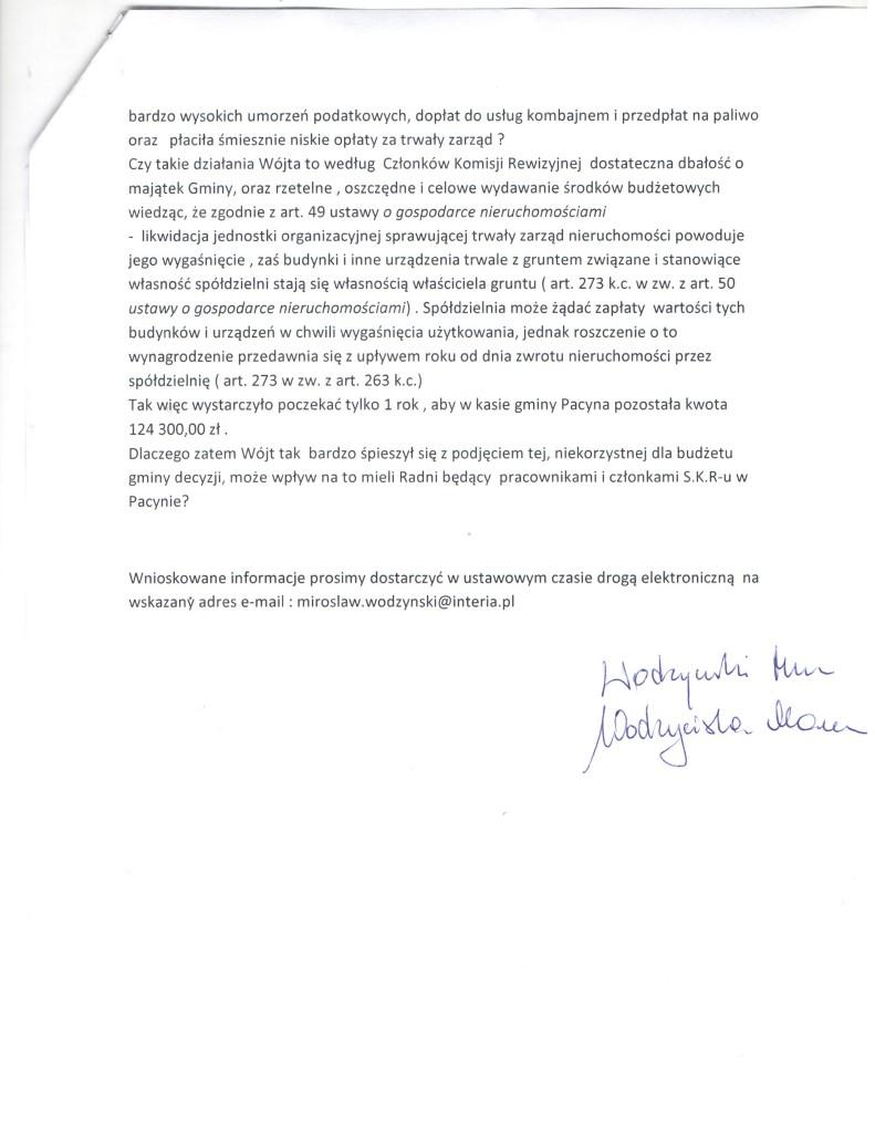 wniosek do komisji rewizyjnej 2 001