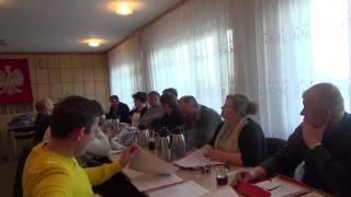 Wspólne posiedzenie Komisji Rady Gminy w  Pacynie z 29.12.2014r.