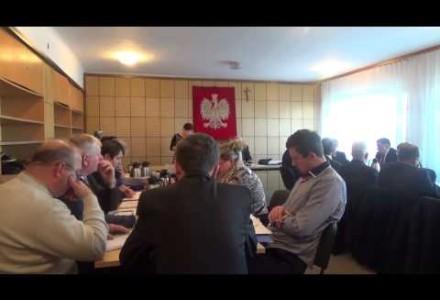 III Sesja Rady Gminy w Pacynie z 30.12.2014 r.