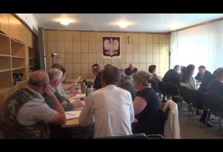Nagranie  z V Sesji Rady Gminy Pacyna z 29.06.2015r. Ważne tematy