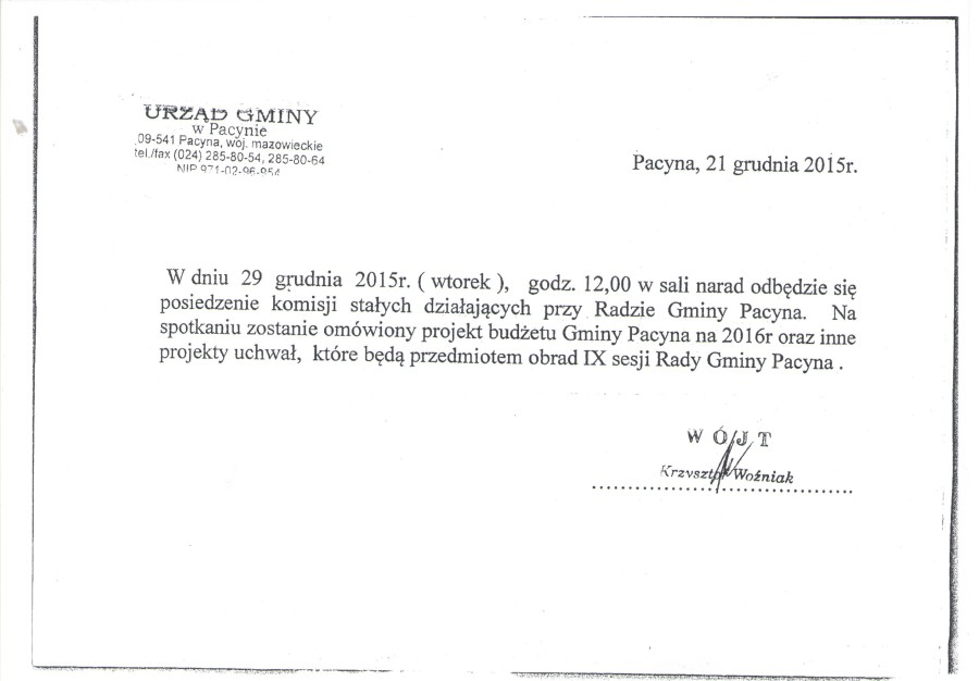 komisja 29.12.2015