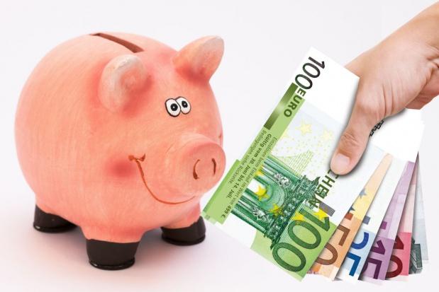 świniak pieniądze zdjęcie