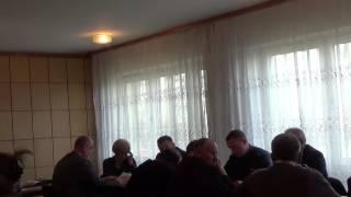 Nagranie z Sesji Rady Gminy w Pacynie z 30.03.2016r
