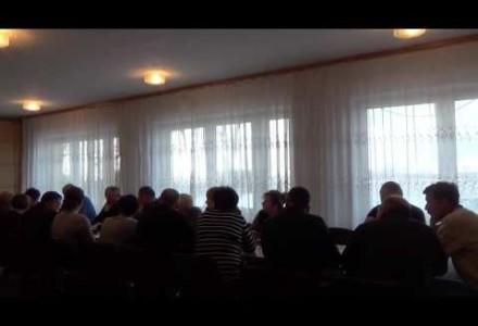 Nagranie z posiedzenia Komisji Rady Gminy w Pacynie 28.11.2016-ustalanie stawek podatkowych