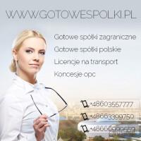 Gotowe Spółki z VAT EU Łotewska Słowackie Czeskie w Anglii w Hiszpanii w Niemczech Bułgarii Kon